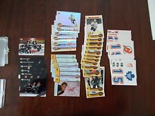 LOT OF 4 HOCKEY SETS ALL-ROOKIE TEAM AMERICAN R TEAM EURO-ROOKIE 87 ALL-STAR