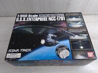 Bandai Star Trek 1/850 USS Enterprise NCC-1701 Plastic Model Kit (703)