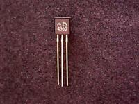 2N4360 - Motorola JFET Transistor with Gold legs (TO-92)