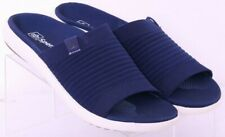 NEW Spenco Astoria Navy Comfort Stretch Slide Sandal Shoes Women's US 7