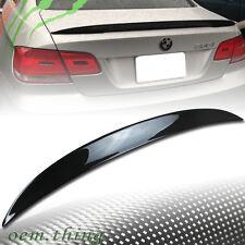 2013 Rear Trunk Lip Spoiler Fit FOR BMW E92 Coupe 328i 335i M3 Carbon Fiber CF