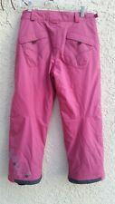 Columbia Convert Snowboard Ski Pants PINK Youth Girls 14/16