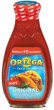 Ortega Taco Sauce HOT Original Thick and Smoth 226g