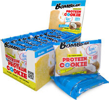 Bombbar protein cookies low-calorie coconut set-box 12 pieces of 40g