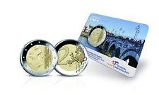 2 Euro Niederlande 2017 Blister Coincard Kursmünze Münzmeister Brücke