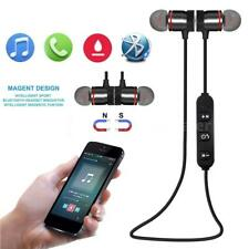 Bluetooth Magnet Wireless Sport Headset Stereo Headphone For iPhone Samsung I4I8
