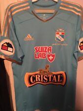 Sporting Cristal Peru 2014 commemorative 17th championship jersey adidas