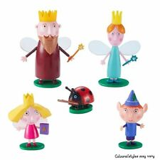 Ben & ACEBO'S Pequeño Reino Coleccionable 5 figura paquete Inc Queen & Rey Cardo