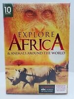Explore Africa: 10-Documentary Collection (3-DVD) - NEW - SHIPS FREE!