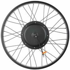 "48v 1000w 26"" Front Fat Tire Electric Bike Ebike Conversion Kit 3 1/4"" Width Rim"
