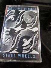 Rolling Stones Steel Wheels Cassette Tape~