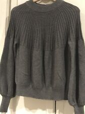 NWT NSF Elise Sweater Grey Small