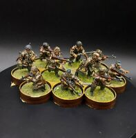 Well Painted 28mm Bolt Action Ww2 german Fallschirmjager Squad #3 warlord games