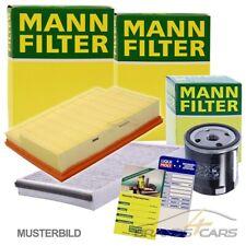 1x MANN-FILTER INSPEKTIONSPAKET FILTERSATZ A VW POLO 6R 1.2 1.4 TSI