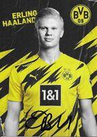 ERLING HAALAND - Borussia Dortmund 2020/2021. Originale Unterschrift!