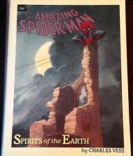 """AMAZING SPIDER-MAN """"SPIRITS OF THE EARTH"""" 1st PRINTING GRAPHIC NOVEL (HARDCOVER)"""