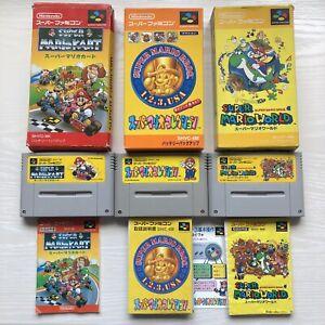Super Mario Collection Super Mario World Mario Kart Super Famicom SFC from Japan