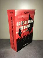Voline LA REVOLUTION INCONNUE, RUSSIE 1917-1921 Pierre Belfond 1969 RUSSE -CA01C