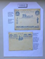 POSTAL HISTORY - GB Queen Victoria Penny post jubilee - Elliots envelope.