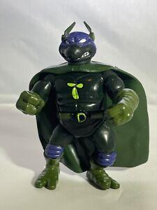 Vintage 1993 Playmates TMNT Ninja Turtles SEWER HEROES SUPER DON w/ Cape