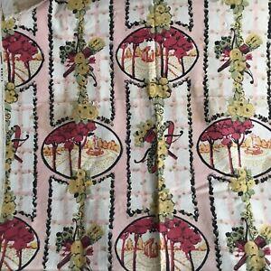 Rare Tissu Époque ART DÉCO 1920 147 x 41,5 cm French Fabric