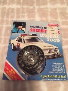 1981 Dukes of Hazzard Roscoe Police Car Sheriff Wheel Yo-Yo By Duncan