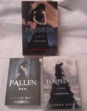 LAUREN KATE Paperback Books Fallen, Torment & Passion