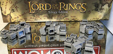 2003 LORD OF THE RINGS MONOPOLY ORIGINAL PARTS: GRAY BUILDING LOT (36)/PRE OWNED