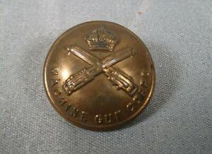 Machine Gun Corps MGC Button WW1 Tunic Uniform British Army - 26mm
