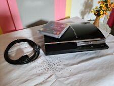 ps3 Konsole Sony Playstation 3 CECHC04 GT5 Kabel 60 GB