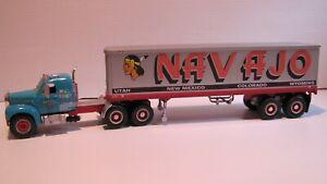 FIRST GEAR --  MACK  --  B - 61  --  INTEGRAL  SLEEPER  CAB  --  NAVAJO