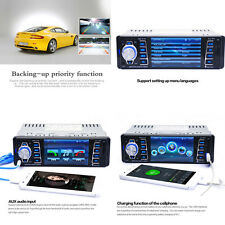 12V FM In Dash Car Stereo Radio 1 DIN SD/USB AUX Bluetooth Handsfree Head Unit