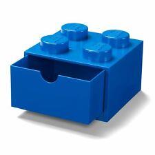 LEGO BRICK STORAGE DESK DRAWER 4 KNOBS GIANT BUILDING BLOCK – BLUE