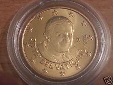 manueduc  Vaticano 2012   50  Céntimos  BENEDICTO  XVI   De Cartera  Nuevos