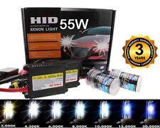 Xenon 55W HID Fog Light Lamp Conversion Kit - H10 9145 8K 8000K Ice Blue (q)