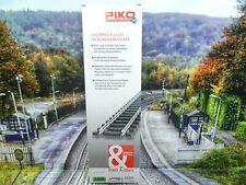 Piko 55223 - H0 - A-Gleis - 1 Stück BWR Bogenweiche R3 rechts - Neu/OVP-#8557
