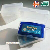 10 x Cartridge Case for Nintendo GameBoy GBA Game Boy Advance DS Card Storage GB