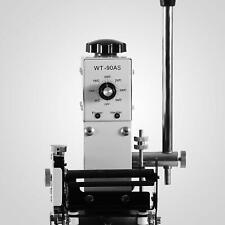 Nouveau Manuel Hot Foil Stamping Bronzage machine Pour PVC Cuir Carte Plastique Premier