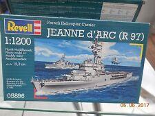 Revell 1/1200 Français Porte-hélicoptères Jeanne d'Arc (R 97) 05896