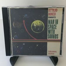 Attilio Art Mineo Man in Space with Sounds CD 2004 Subliminal Lounge