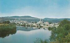 Rivière du Gouffre et Ville BAIE ST PAUL Charlevoix Quebec Canada UNIC Postcard