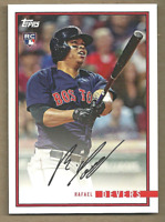 Rafael Devers 2018 Topps On Demand Rookie Year in Review #38 Boston Red Sox