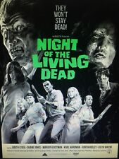 Night Of The Living Dead Poster Waxwork Records Subscriber Limited Edition 18x24