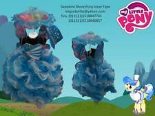 Sapphire Shores little pony girl costume gown dressup disguise equestria MLP xv