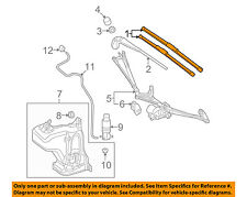 SMART OEM 08-15 Fortwo Wiper Arm-Front Blade 4518200045