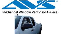 AVS Rain Guards In-Channel VentVisor 07-13 for GMC Sierra Silverado Extended cab