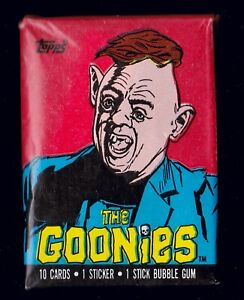 THE GOONIES - FOR SALE IS A TOPPS 1985 GUM CARD WAX PACK