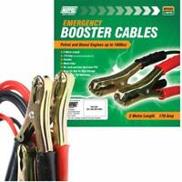 MAYPOLE Emergency Jump Start Leads / Booster Battery Cables 2M /170 Amp