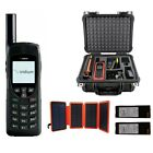 Iridium 9555 Satellite Phone Emergency Responder Package w/ Solar Panel