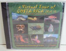 A Virtual Tour of Costa Rica Vol. 1 (CD-ROM, 2004) Multimedia Interactive Map